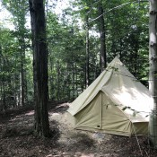 Woodland Glamping Bell Tent